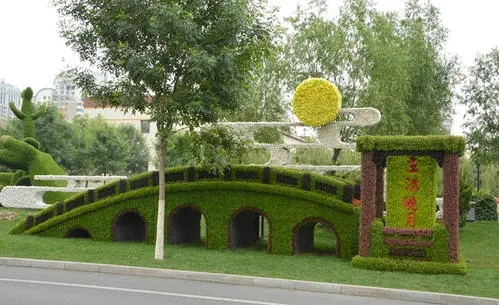 园林景观立体花坛实际有什么作用?
